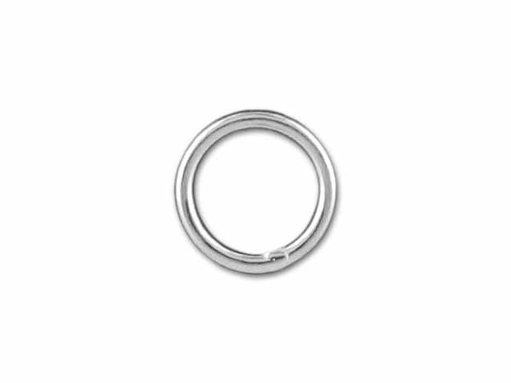 Sterling Silver Fine Closed Jump Ring (0.65x5mm)