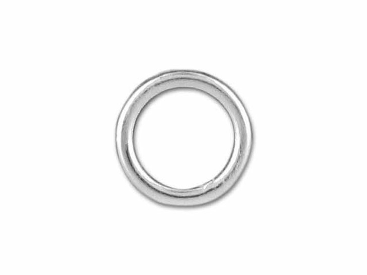 Sterling Silver Heavy Closed Jump Ring (0.9x6mm)