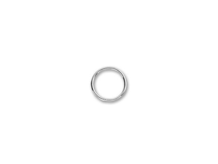 Sterling Silver Heavy Closed Jump Ring (1x12mm)