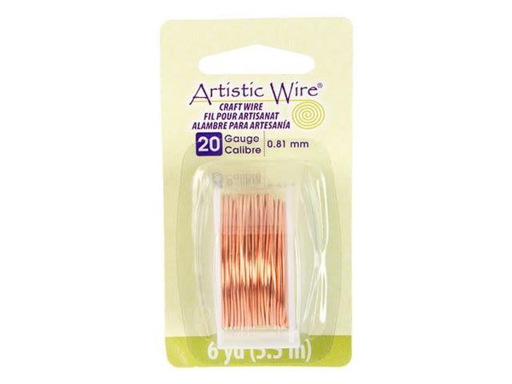 20-Gauge Bare Copper Artistic Wire, 6-Yard Spool