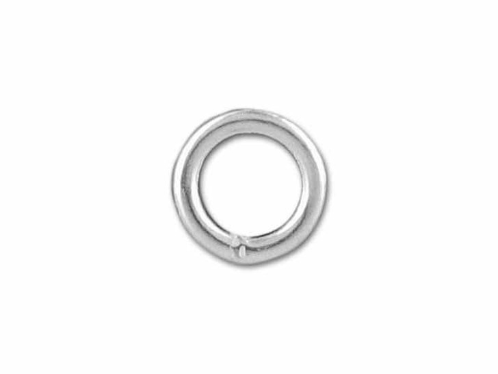 Sterling Silver Heavy Closed Jump Ring (1x5mm)