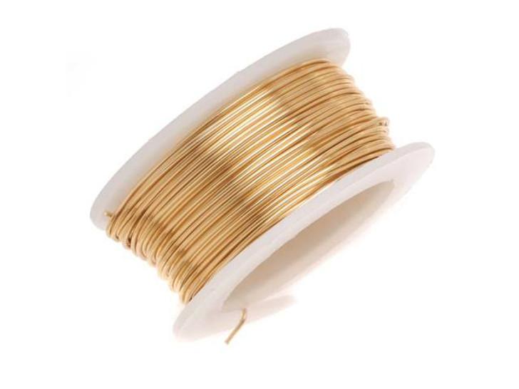 20-Gauge Brass Tarnish-Resistant Artistic Wire, 6-Yard Spool