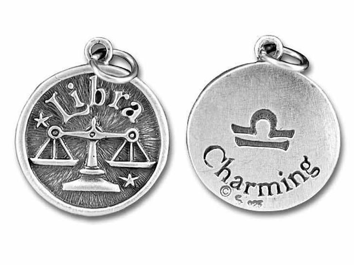 Sterling Silver Libra-Charming Charm