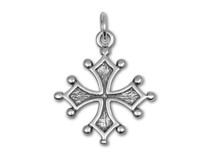 Sterling Silver Maltese Cross