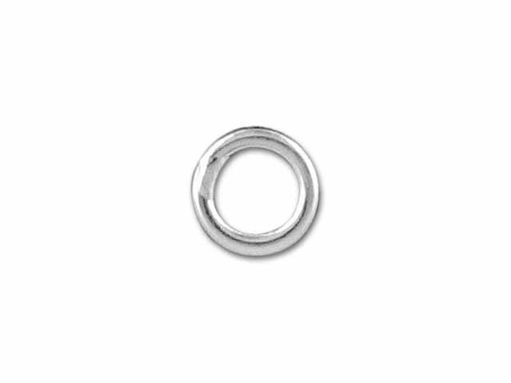 Sterling Silver Medium Closed Jump Ring (0.76x4mm)