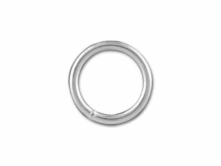 Sterling Silver Medium Closed Jump Ring (0.76x6mm)