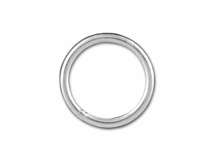 Sterling Silver Medium Closed Jump Ring (0.76x7mm)