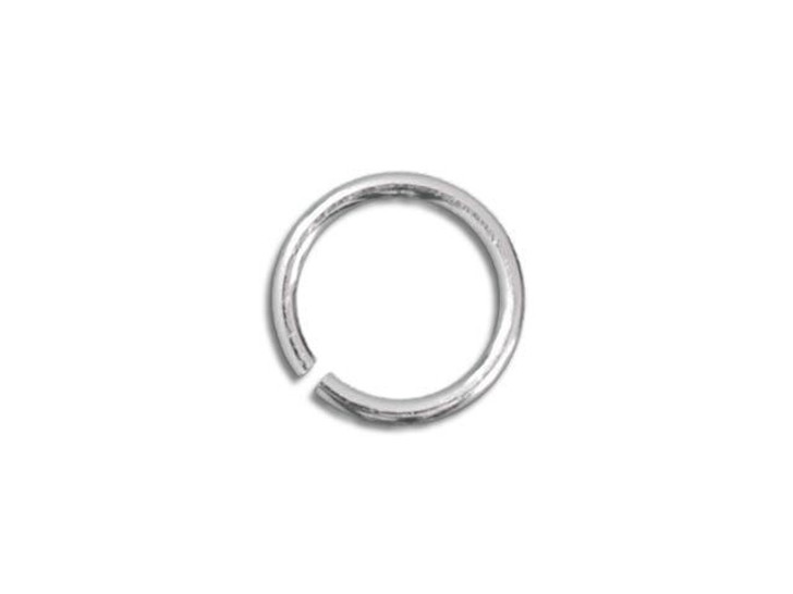 Sterling Silver Open Jump Ring - 0.025 x .165 inches (0.65 x 4.20mm)