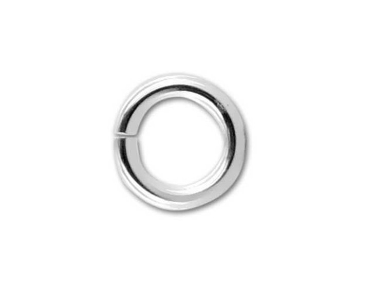 Sterling Silver Stacking Ring wOpen Jump Ring ~ Size J