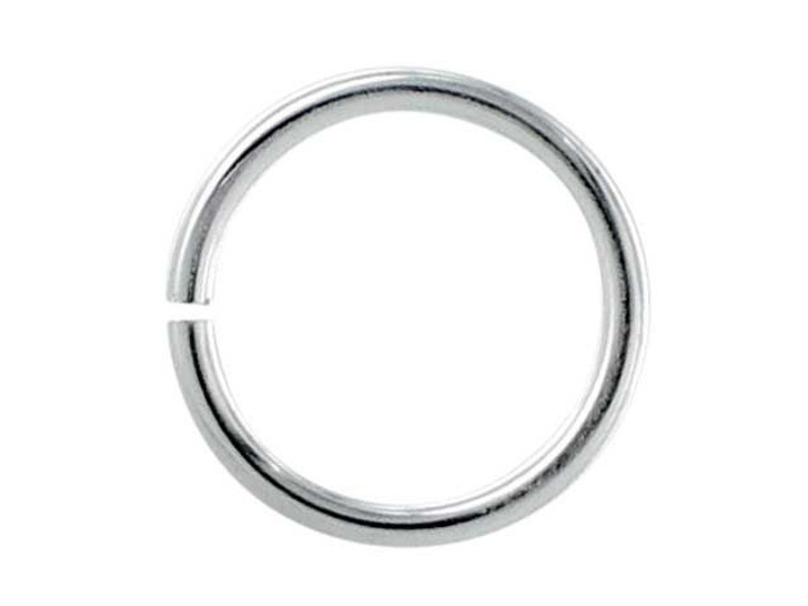 Sterling Silver Open Jump Ring 0.035 x .35 (0.89 x 9.0mm)