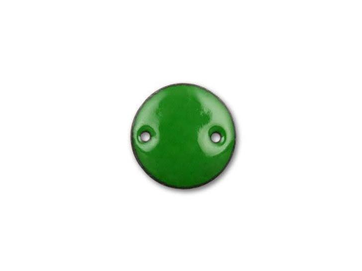 20mm Round Link - Green