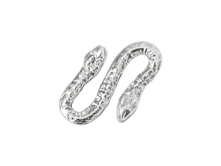 Sterling Silver Snake S Clasp