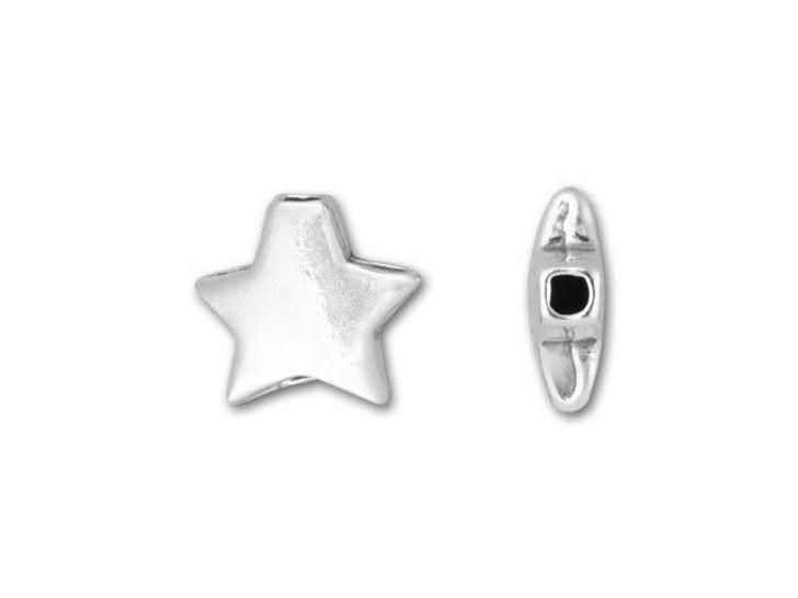 Sterling Silver Star Bead