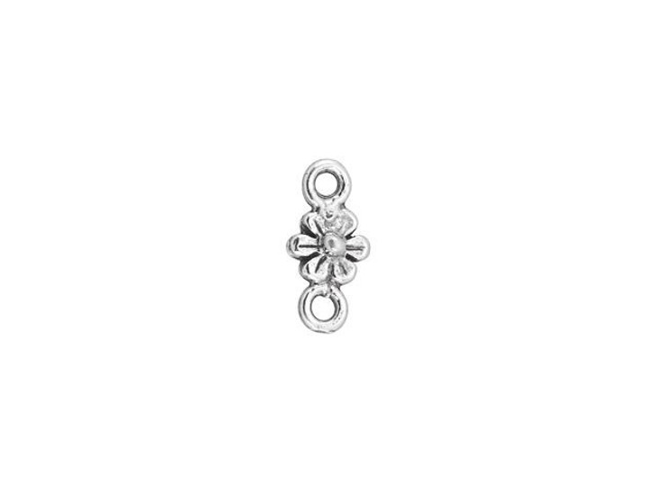 Sterling Silver Tiny Daisy Link