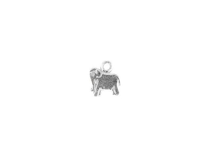 Sterling Silver Tiny Elephant Charm