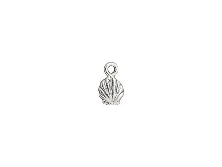 Sterling Silver Tiny Shell Charm