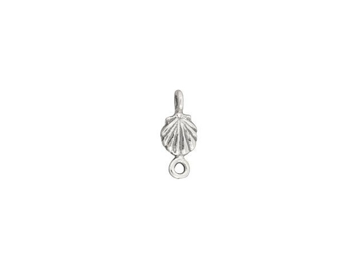 Sterling Silver Tiny Shell Link