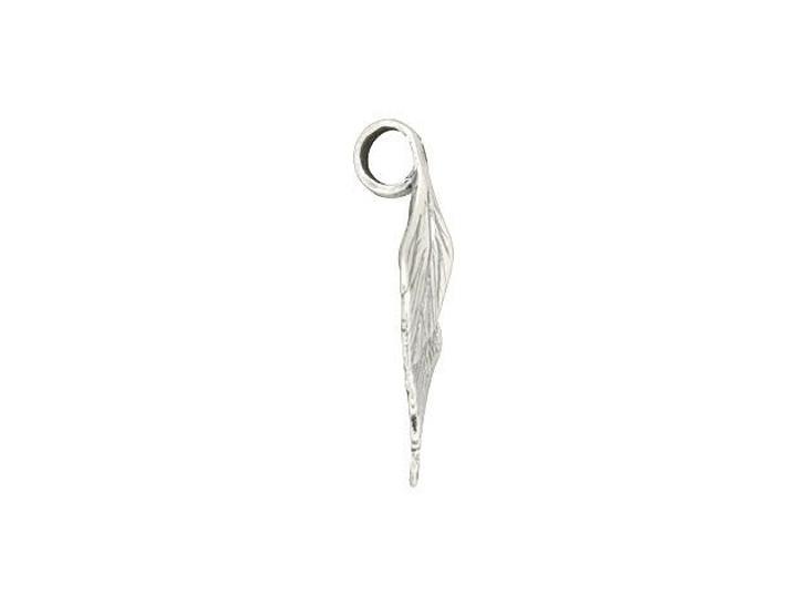Sterling Silver Triple Leaf Bail