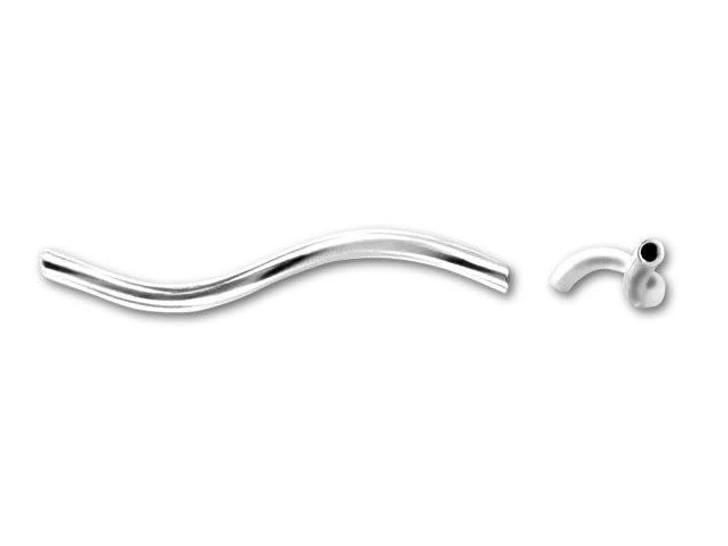 Sterling Silver Twist Link