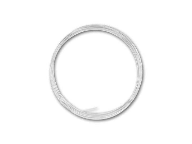 Sterling Silver Wire 22 Gauge Half Hard - Approx. 1/2 troy oz (15ft)