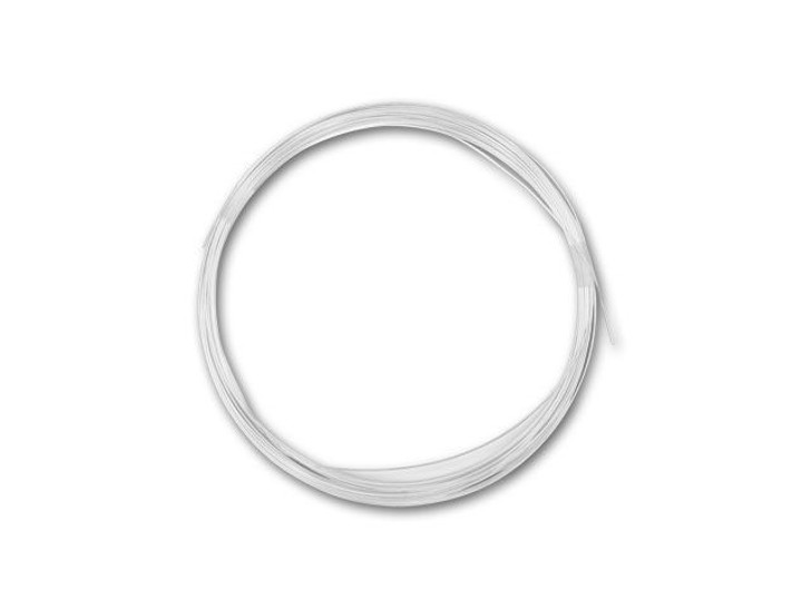 Sterling Silver Wire 24 Gauge Half Hard - Approx. 1/2 troy oz (24ft)