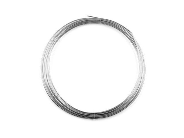 Sterling Silver Wire Round 18 Gauge DEAD SOFT - Approx. 1 troy oz (12ft)