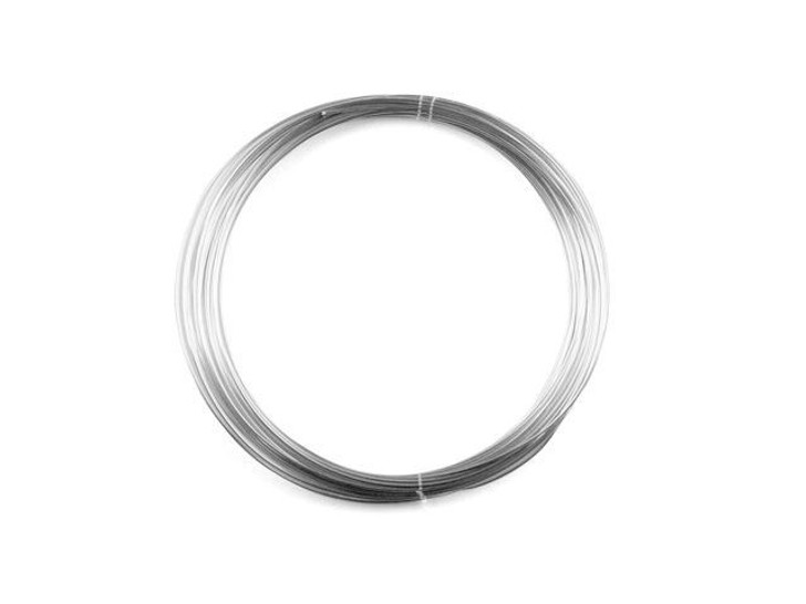 Sterling Silver Wire Round 22 Gauge Half Hard - Approx. 1 troy oz (30ft)