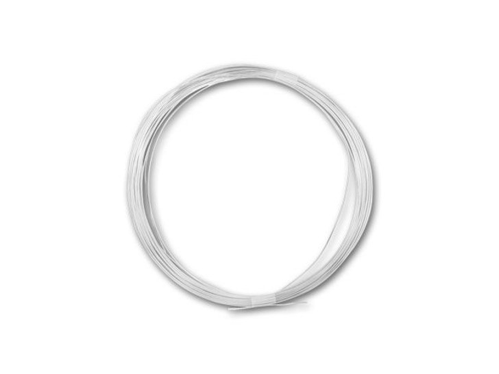 Sterling Silver Wire Round 24 Gauge DEAD SOFT - Approx. 1/2 troy oz (24ft)