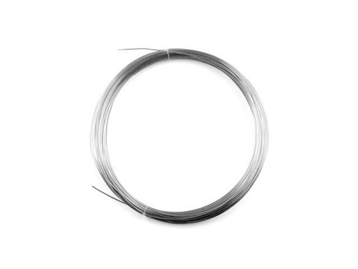 24G Round Dead Soft .925 Sterling Silver Wire 4 grams