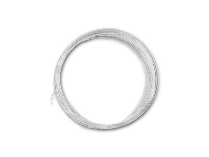 Sterling Silver Wire Round 28 Gauge DEAD SOFT - Approx. 1/2 troy oz (55.5ft)