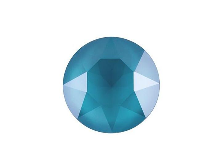 Swarovski 1088 SS29 Xirius Chaton Crystal Azure Blue Shiny LacquerPRO