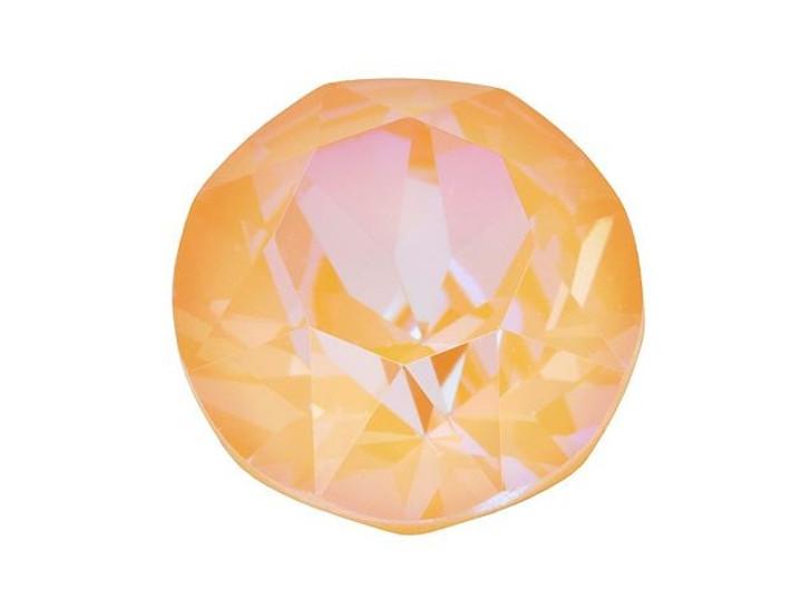 Swarovski 1088 SS39 8mm XIRIUS Chaton Crystal Peach DeLite LacquerPRO