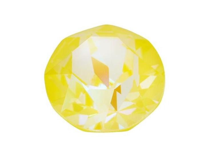 Swarovski 1088 SS39 8mm XIRIUS Chaton Crystal Sunshine DeLite LacquerPRO