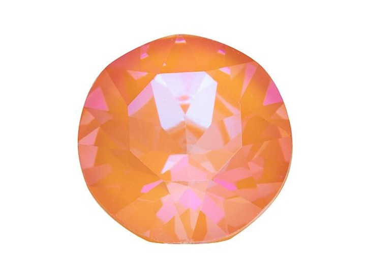 Swarovski 1088 SS39 Chaton Orange Glow LacquerPRO DeLite