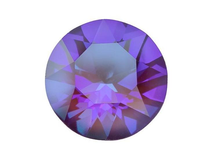 Swarovski 1088 SS39 XIRIUS Chaton Crystal Burgundy DeLite LacquerPRO