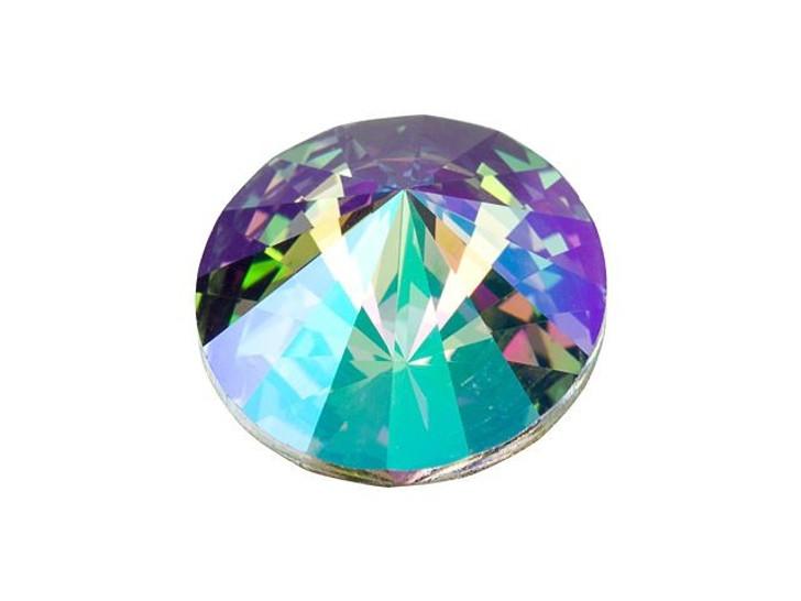 Swarovski 1122 12mm Rivoli Crystal Paradise Shine