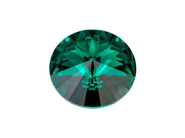 Swarovski 1122 12mm Rivoli Emerald