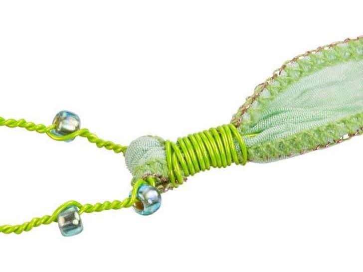 26-Gauge Blue Tarnish-Resistant Artistic Wire, 15-Yard Spool