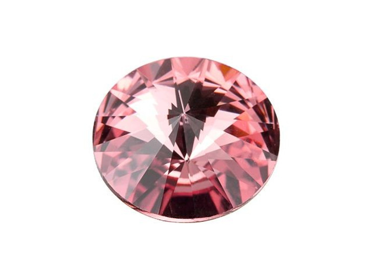 Swarovski 1122 Rivoli 12mm Blush Rose