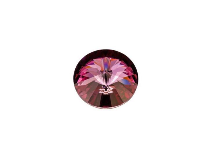 Swarovski 1122 SS47 Rivoli Crystal Antique Pink