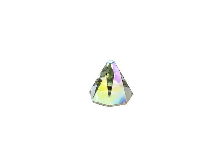 Swarovski 2019 5mm Round Spike Flatback Black Diamond Shimmer
