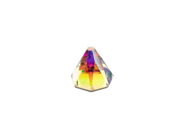 Swarovski 2019 6mm Round Spike Flatback Crystal AB