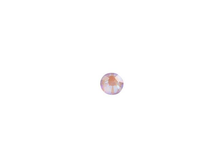 Swarovski 2038 SS10 Hotfix Flatback Crystal Lavender DeLite LacquerPRO