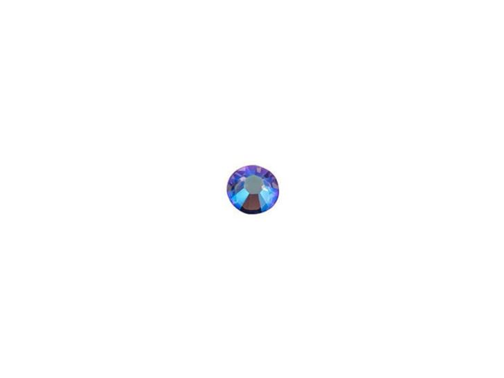Swarovski 2038 SS10 Hotfix Flatback Tanzanite Shimmer