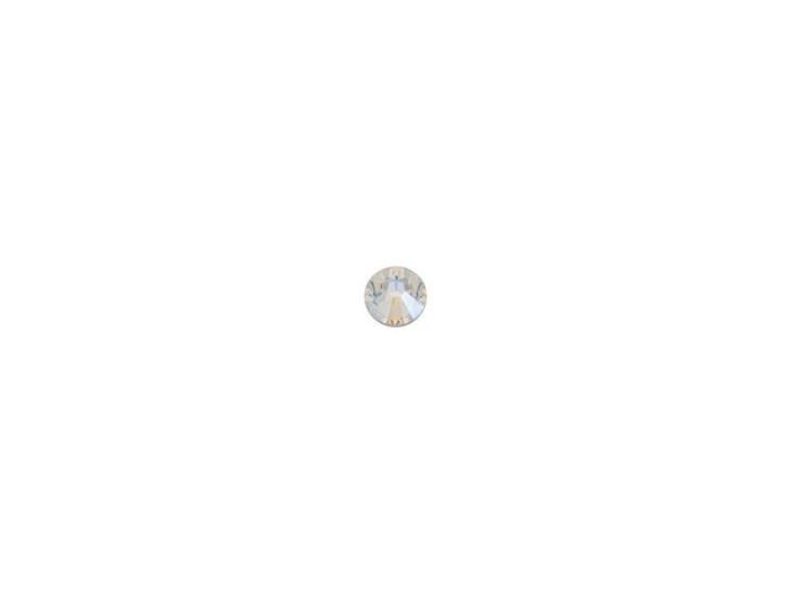 Swarovski 2058 SS7 Xilion Rose Enhanced Flatback Crystal Moonlight