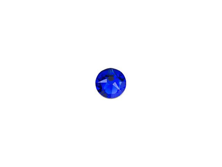 Swarovski 2058 SS9 Xilion Rose Enhanced Flatback Majestic Blue