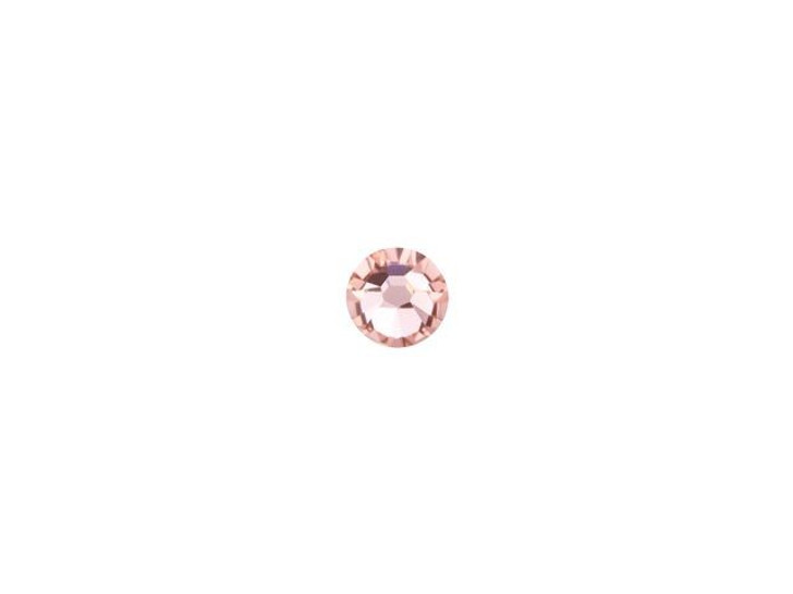 Swarovski 2058 SS9 Xilion Rose Enhanced Flatback Vintage Rose