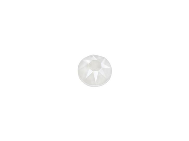 Swarovski 2078 SS16 XIRIUS Hotfix Flatback Crystal Electric White LacquerPRO