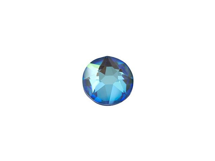 Swarovski 2078 SS16 XIRIUS Hotfix Flatback Crystal Ocean DeLite LacquerPRO