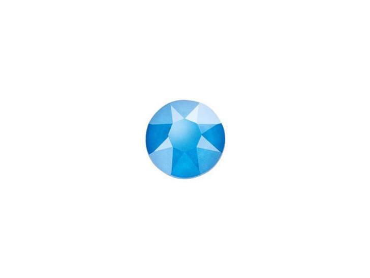 Swarovski 2078 SS20 XIRIUS Hotfix Flatback Crystal Electric Blue LacquerPRO